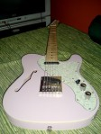 SX Tele thinline with EMG TC pickup set6