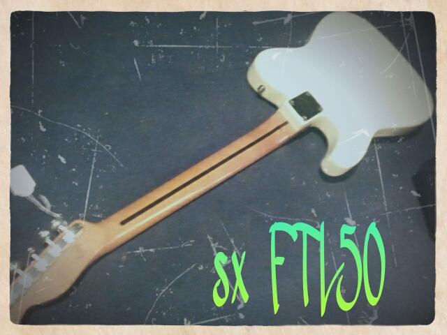 SX FTL-50 Vintage White_1360930405823