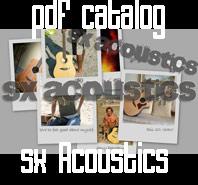 SX Acoustic catalog