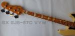 SX SJB-57C VYW  Bajo Electrico 4 cuerdas Vintage Yellow Cover3290040